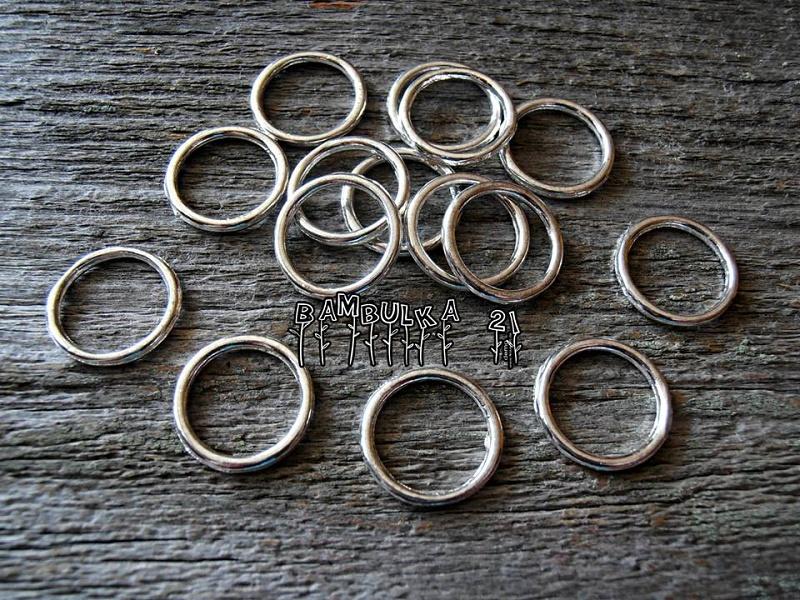 Kovový spojený kroužek 14mm x 2mm 6141de8982